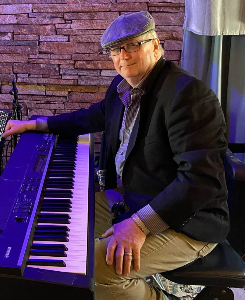 JT at the Piano